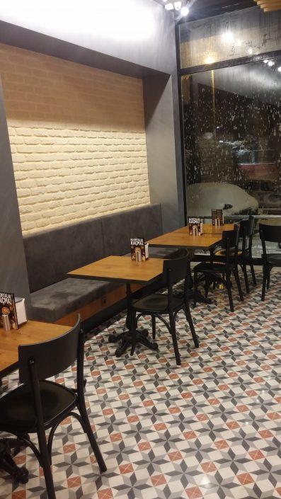 Cafe dekorasyon ve projesi