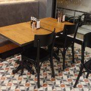 Compact masa ve sandalye