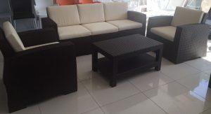 PVC oturma takımı