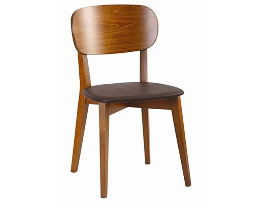 Ahşap cafe sandalye