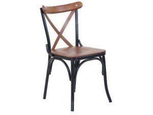 Kolsuz metal Sandalye