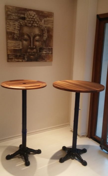 Ahşap bar masası