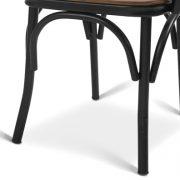Metal sandalye