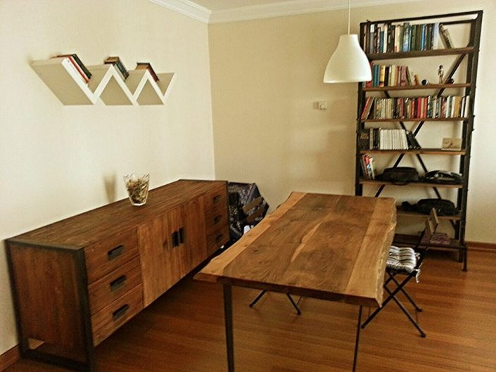 Masif ağaç mobilya