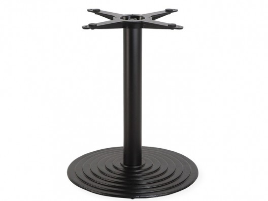 Yuvarlak döküm masa ayağı