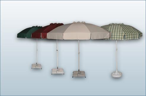Yuvarlak Plaj Şemsiyesi