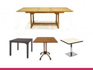 Dış mekan masalar