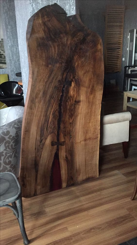 Doğal ağaç masa tablası