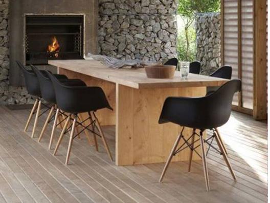 Doğal masa takımı