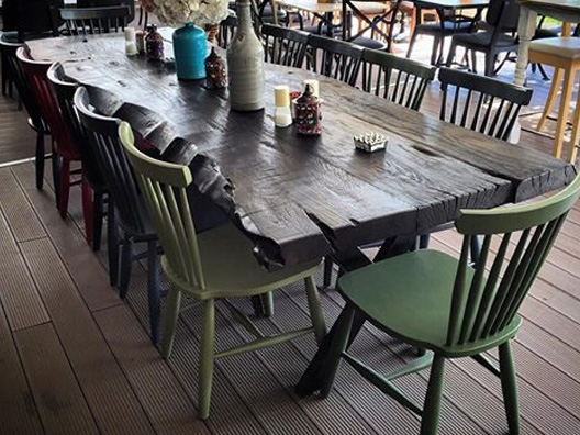 Ceviz Masa Takımı