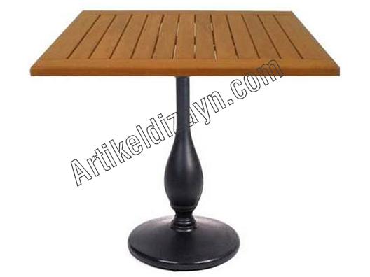 Ahşap Cafe masası