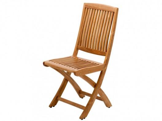 Teak katlanır sandalye