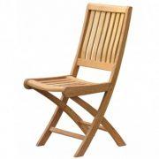Ahşap katlanır sandalye