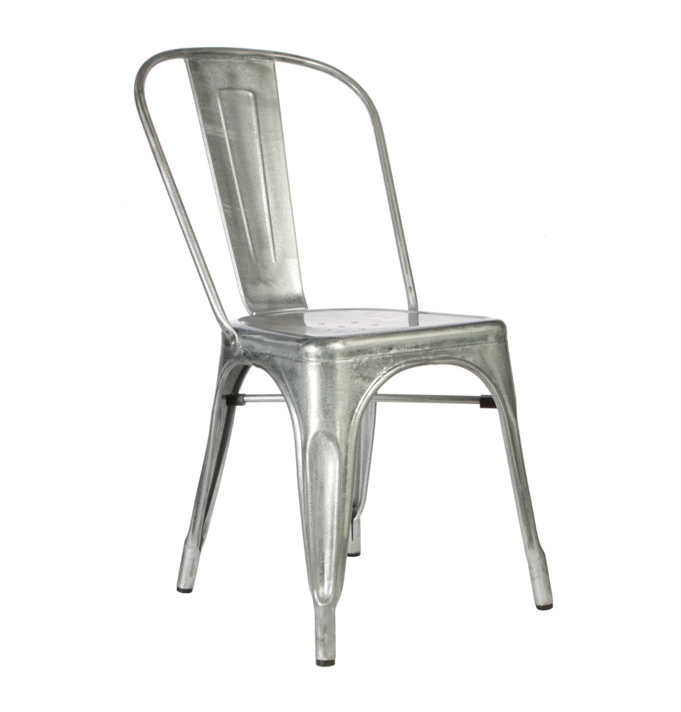 Metal cafe sandalyesi