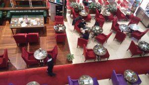 Cafe otel restaurant dekorasyonu