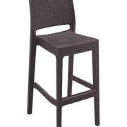 Rattan bar sandalyesi
