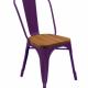 Masifli metal sandalye