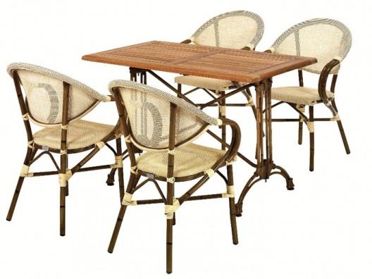 İroko masa takımı