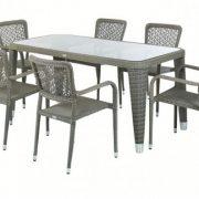 Rattan masa takımı