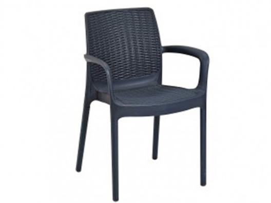 Rattan Görünümlü Plastik Sandalye
