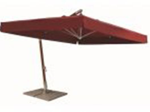 Kare Yandan Gövdeli Şemsiye