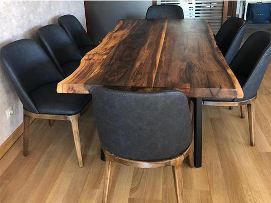 Ceviz Kütük Masa
