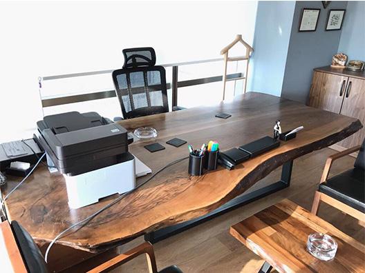 Ceviz Ofis Masası
