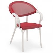Plastik Tekstilen Sandalye